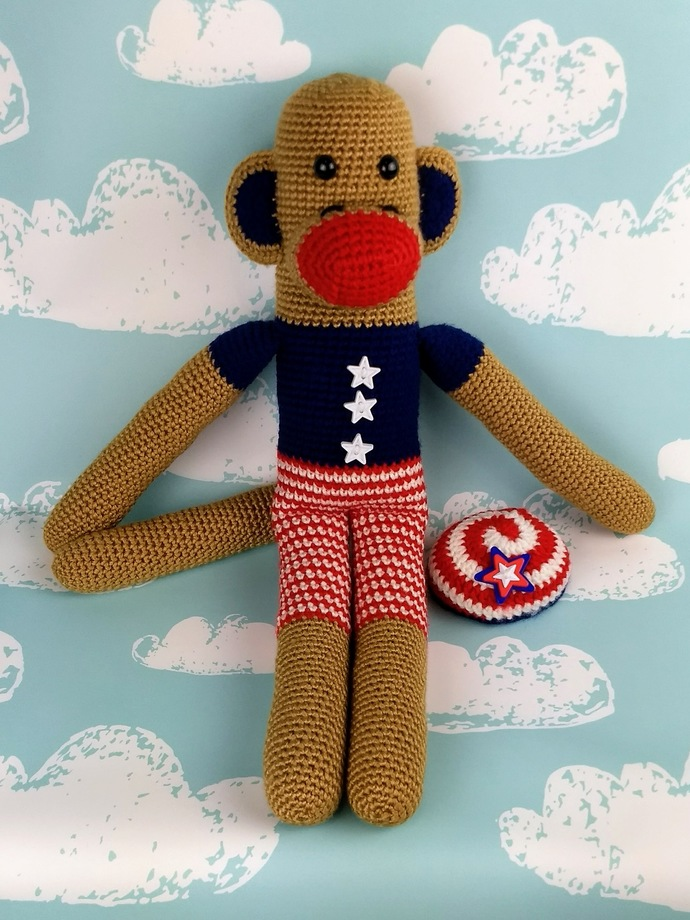 Stars and Stripes Monkey