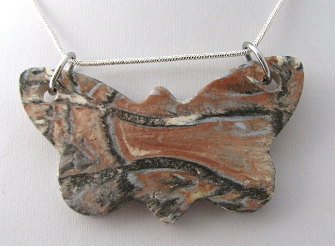 Butterfly Ceramic Pendant