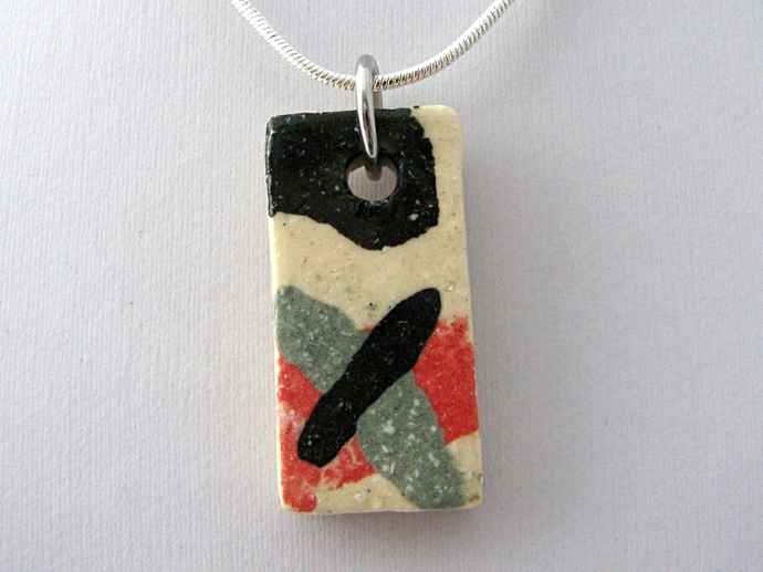 Ceramic Pendant Rectangle