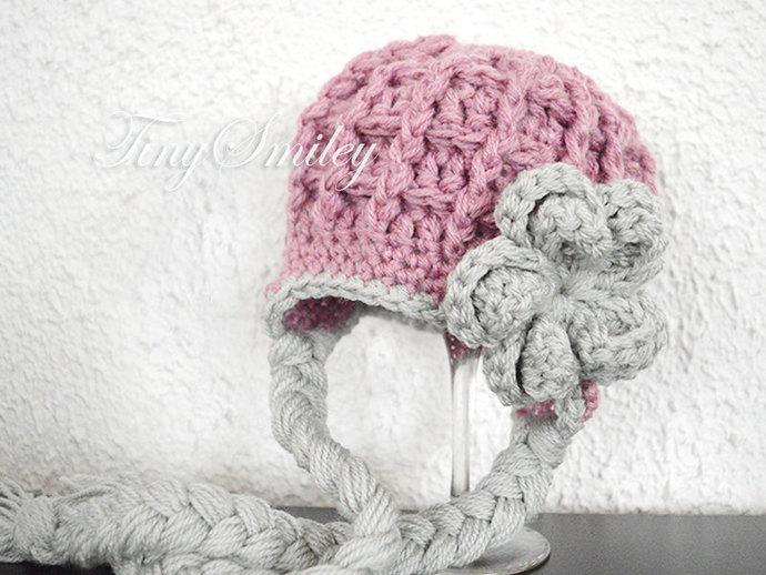 961511d6693 Earflap Baby Hat