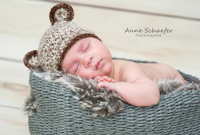 b3074db7ef3 Newborn Bear Hat