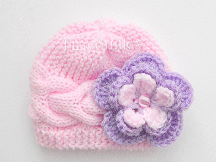4ac64aff071 Knit Baby Hat