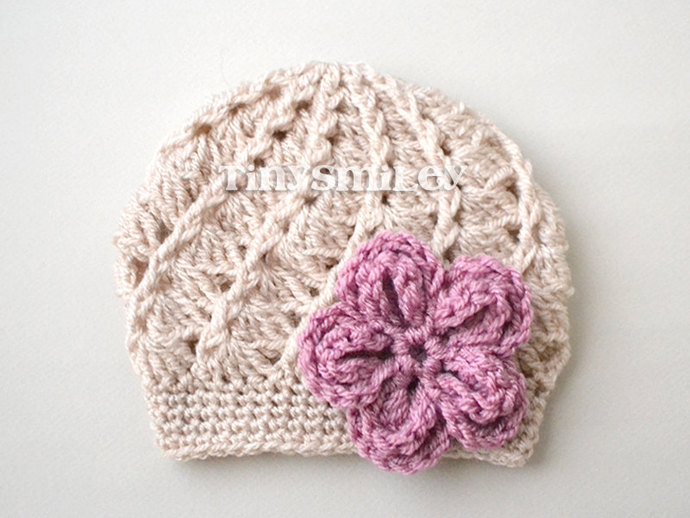 f46c816309f Baby Girl Crochet Hat