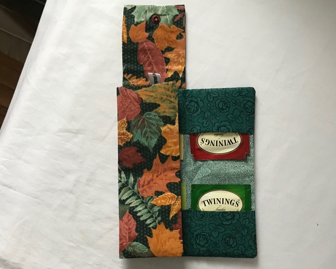 Autumn Leaves Tea Bag Wallet
