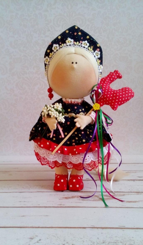 Handmade Doll,Textile Doll,Fabric Doll,Rag Doll,Home Decoration,Handmade