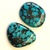 Turquoise Gemstone Cabochon Free Form Parcel TWO CABS
