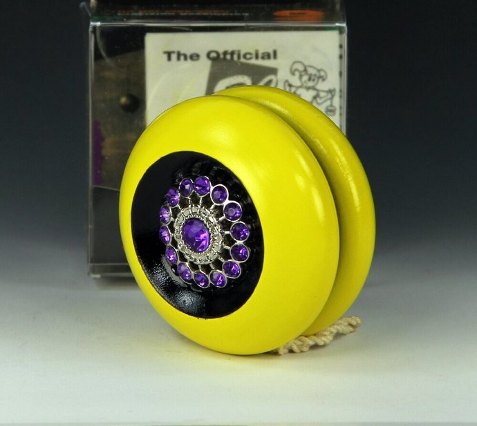 Tom Kuhn/BC Maple Imperial YoYo: one-of-a kind Yo-Yo Jewelry