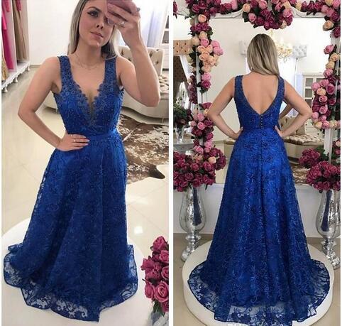 Royal Purple Prom Dresses 2018