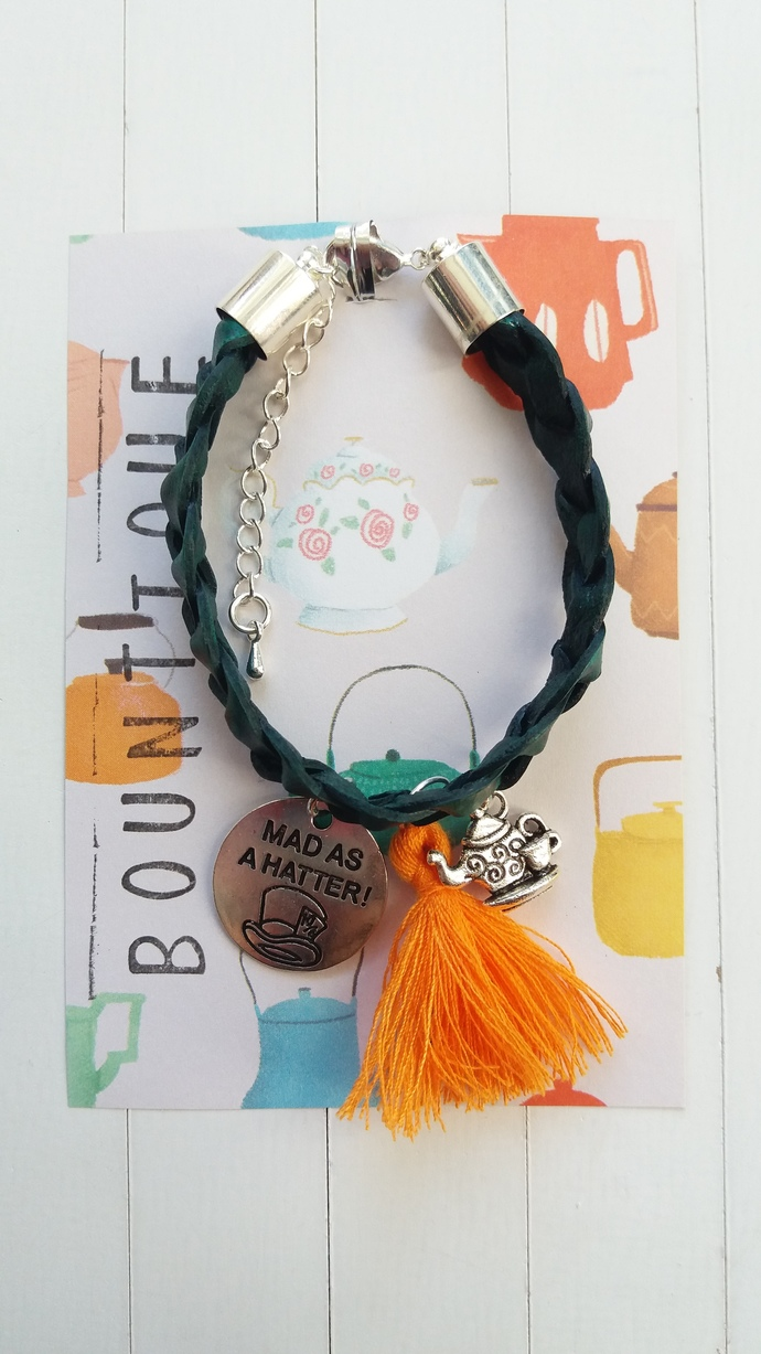 Totally Bonkers handmade bracelet | Inspired by Disney's Alice in Wonderland's