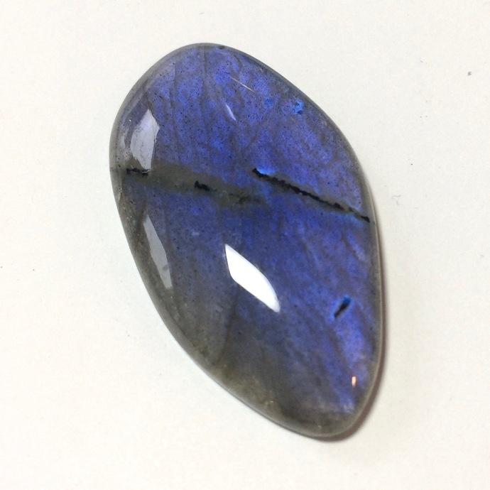 Labradorite Gemstone Cabochon 40x20mm