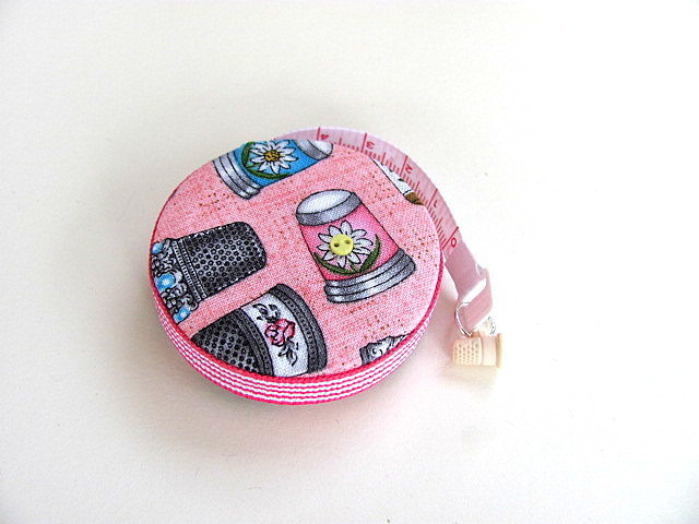 Measuring Tape Just Thimbles Retractable Pocket Tape Measure
