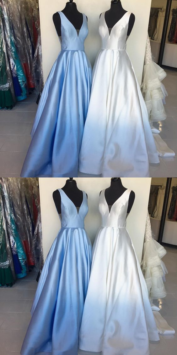 Charming Prom Dress, A Line Evening Dress, Sleeveless Long Prom Dresses, Formal