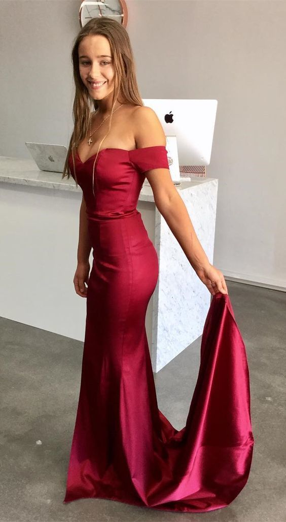 f6a290a208c Gorgeous Off the Shoulder Mermaid Long Prom by Dress Storm on Zibbet