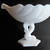 Bearded Dolphin (Koi fish, Triton, Sea Animal) MilkGlass Bowl