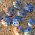 Multi-Colored Millefiori Disk Beads 10-1106