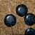 Black and Blue Millefiori Beads 10-