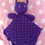 READY TO SHIP Magical Lunar Kitty Lovey - Security Blanket, Stuffed Animal