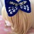 READY to SHIP POLICE BOX Inspired Hair Bow / Barrette / Hair Clip - Cosplay,