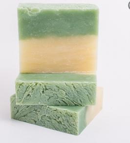 Cucumber Melon homemade soap (vegan)