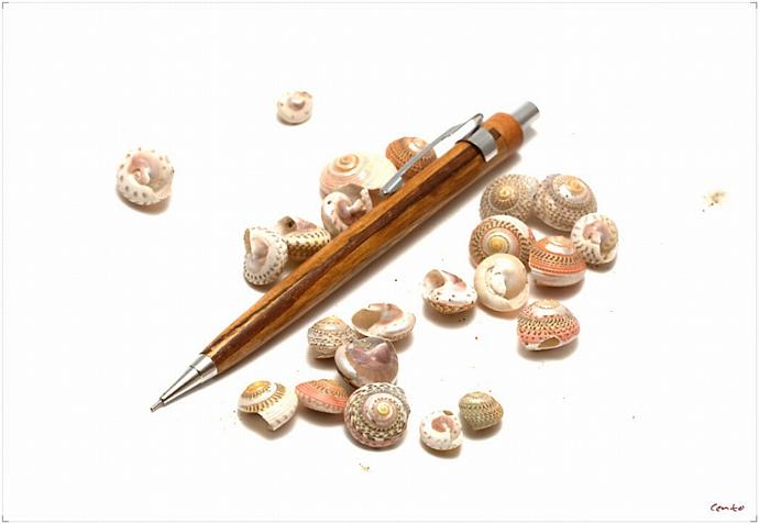 CGW Wooden Mechanical Pencil_Spalted Oak