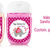 Valentine Xoxo Elephant sanitizer labels, sanitizer label 1oz, pdf - Custom