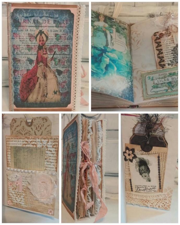 French Vintage Paris junk journal