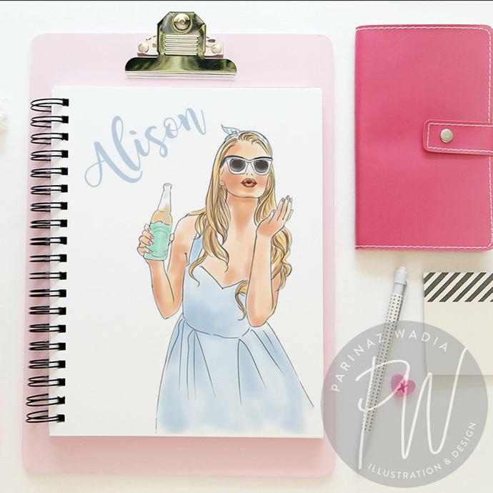 Soda  Pop Girls watercolour fashion clipart
