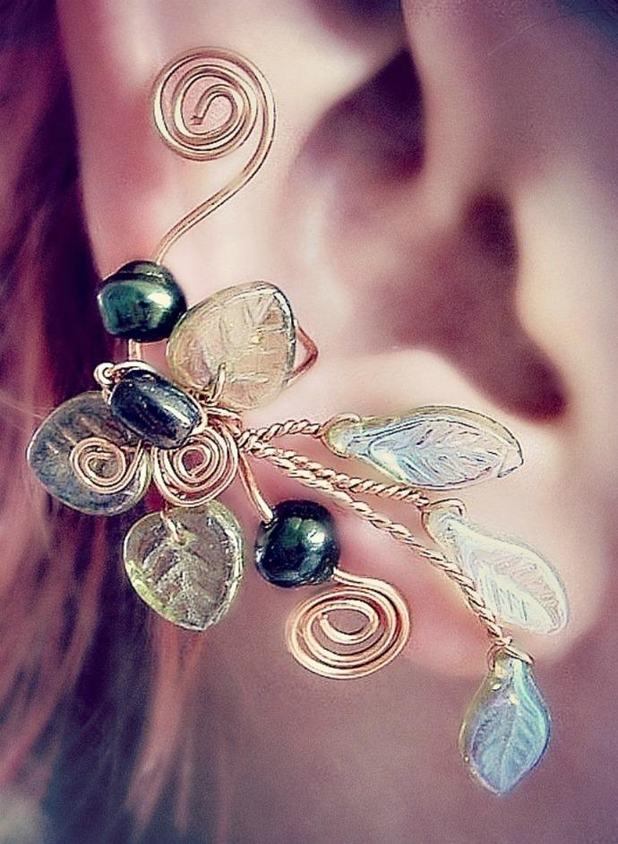Rivendell Spring Ear Cuff Vine