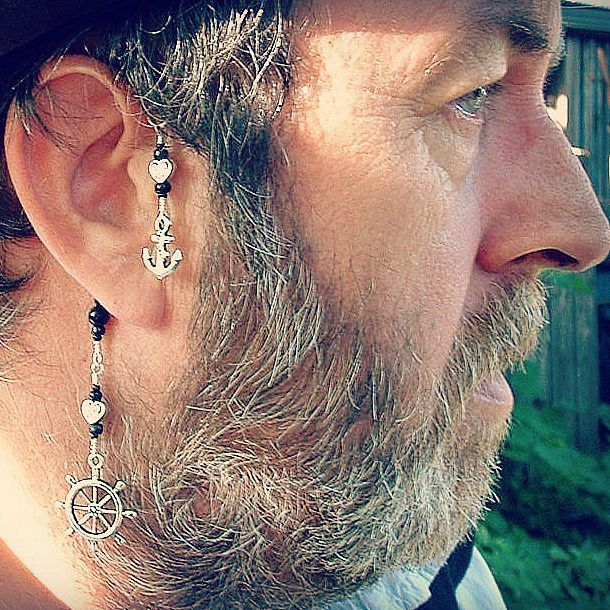 Pirate Ear Cuff The Stormy Seas No Piercing Required