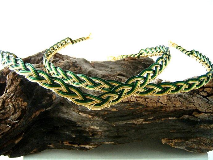 Woodland Dragon Lady Circlet Crown Custom Colors