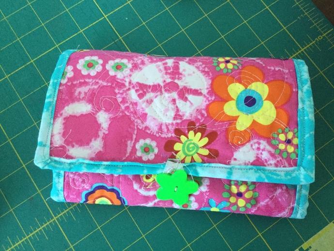 Flower Makeup Travel Bag