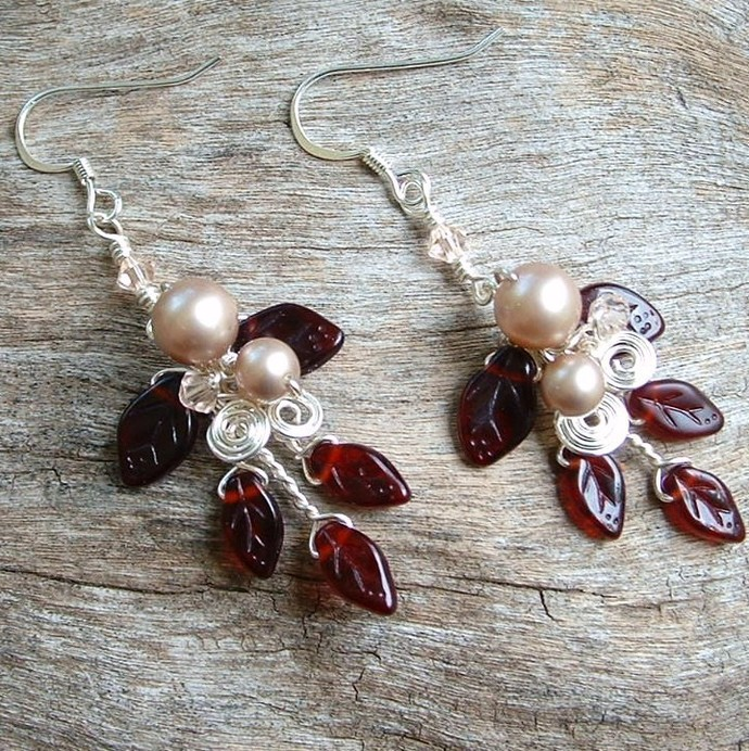 Queen Mabs Woodland Wedding Earrings