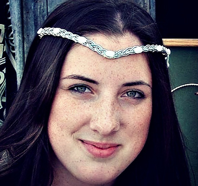 Celtic Moonstone Wedding Tiara Moon Goddess
