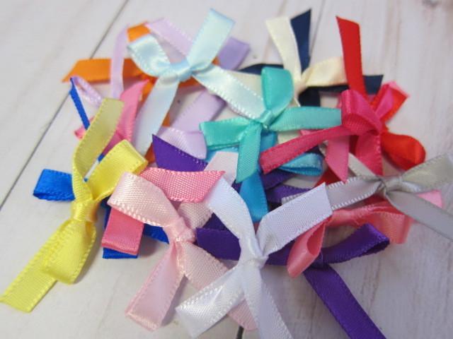 20 pcs Satin Ribbon Bow stl