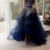 Strapless Dark Navy Elegant 2018 Prom Dresses,Prom Dresses,Formal Women