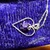 Amethyst CZ Sterling Silver Heart Pendant Necklace