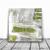 Original Fine Art Abstract, Contemporary Wall Art, Modern Art, green and white,