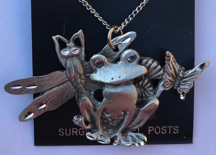 Frog and Friends Necklace