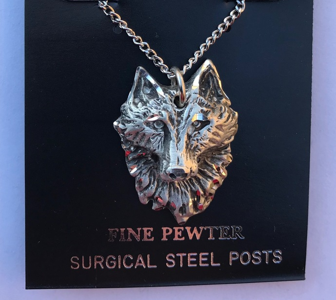 Face of the Wolf Necklace