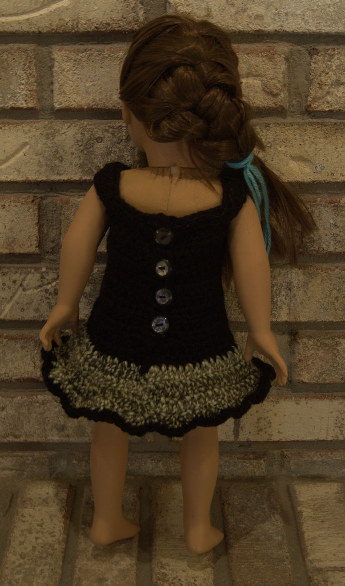 18 Inch Doll Dress and Bolero Jacket