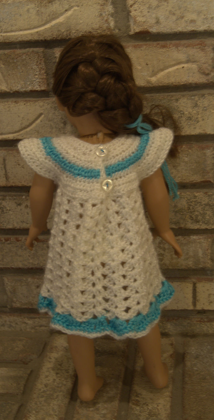18 inch Doll Dress/Crochet Doll Clothes