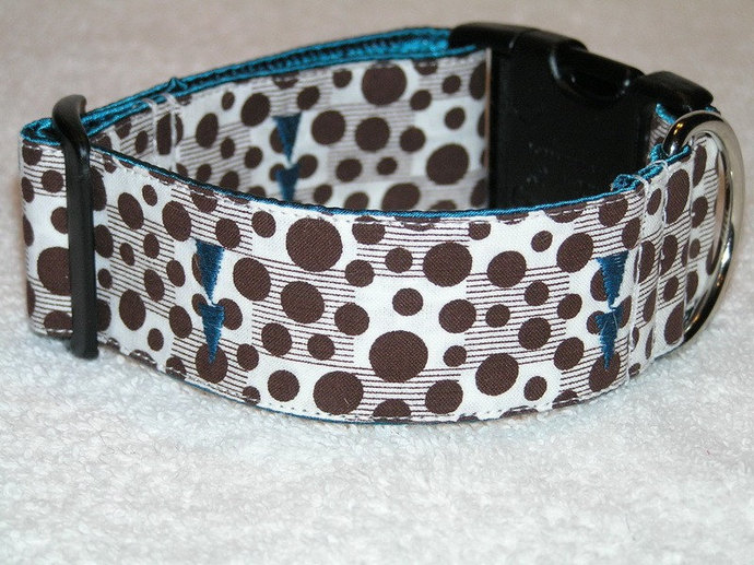 "READY TO SHIP - Damico Side Release Buckle Dog Collar - 1.5"" Width - Size"