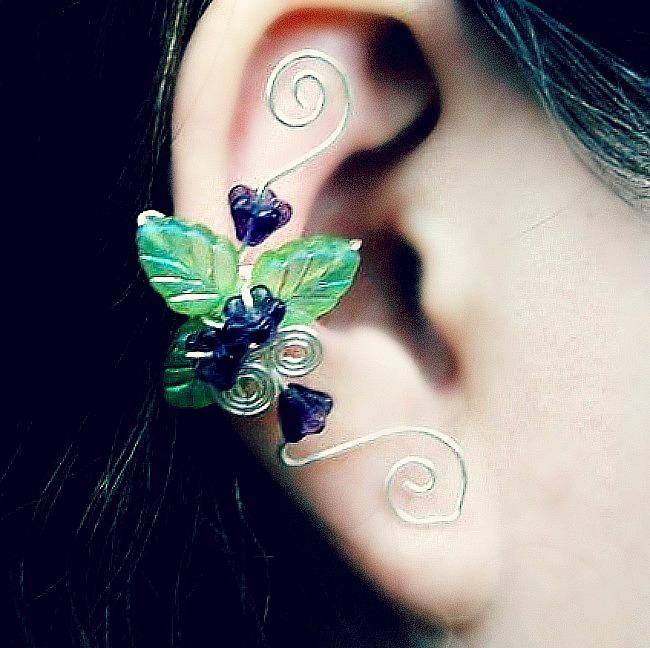 Fairy Garden Ear Cuff Vine