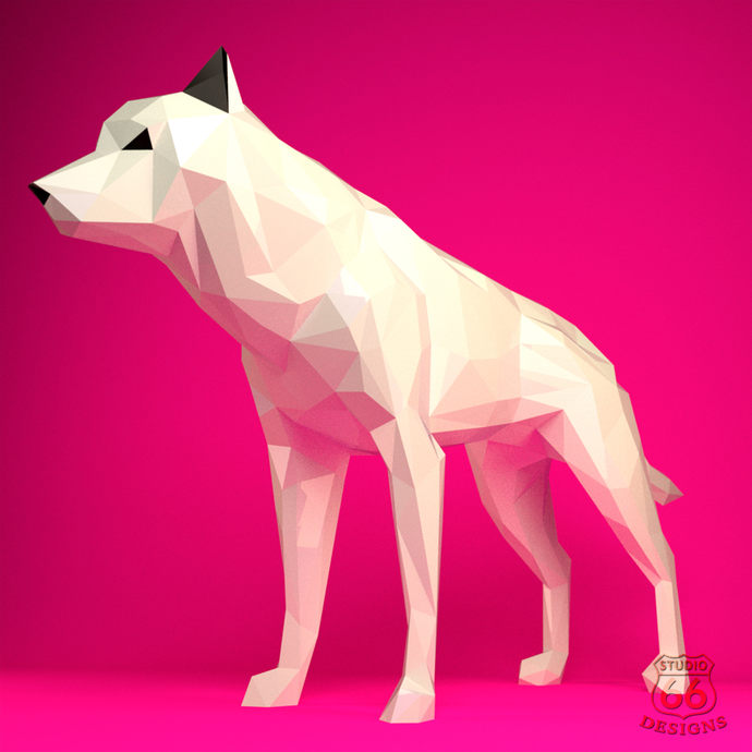 Papercraft Wolf Paper Wolf Game Of By Studio66designs On Zibbet