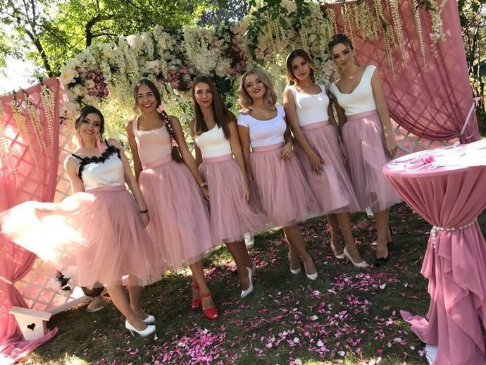 bridesmaid flower girlevening skirtadult tutu skirtbridesmaid dresswomen