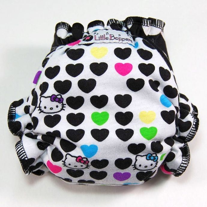 Size Big Newborn (8-18 lbs) Hidden-PUL - Hello Kitty Love