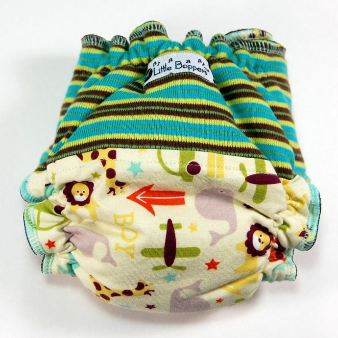 Size Big Newborn (8-18 lbs) Wind Pro - Boy Things and Stripes