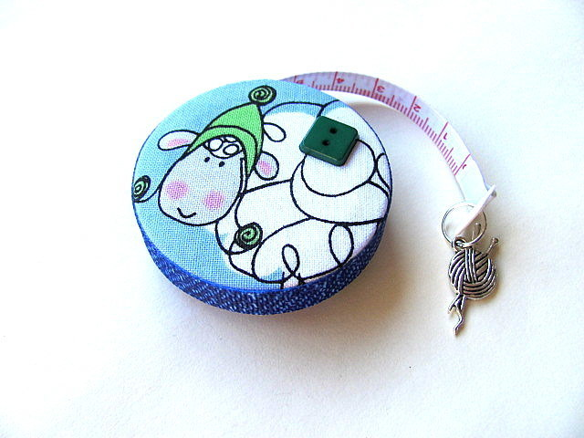Measuring Tape Curly Lambs Fabric Tape Measure