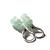 Aquamarine Sterling Earrings Faceted Light Blue Earrings Sterling Silver Natural