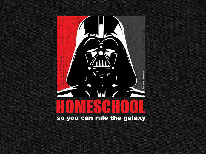 Homeschool So You Can Rule The Galaxy T-Shirt